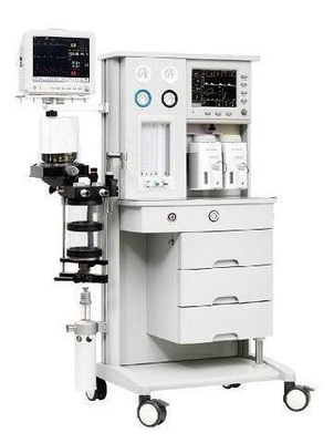 (MS-600E) Advanced Medical Touch Screen Halothane Isoflurane Enflurane Sevofluane Anesthesia Machine